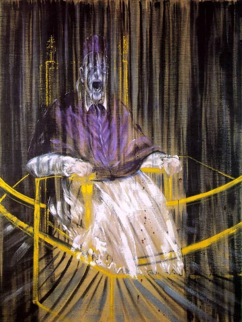 'Study after Velazquez's Portrait of Pope Innocent X', 1953