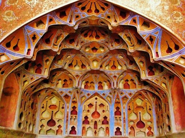 Ανάκτορο Αλί Καπού, Ισφαχάν, Ιράν