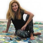 Μαρία Φιλοπούλου: «Η παραδείσια γαλήνη στους πίνακές μου είναι εύθραυστη»