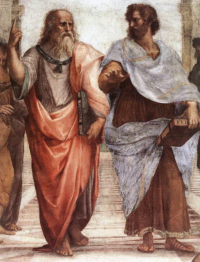 Πλάτων και Αριστοτέλης στο έργο του Ραφαήλ
