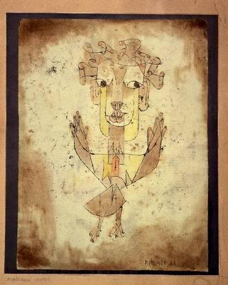 Angelus Novus, Paul Klee - The Israel Museum, Jerusalem