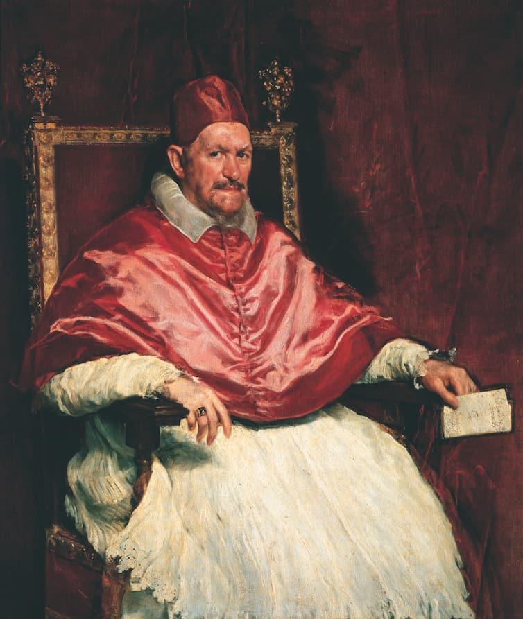 Diego Velazquez, Portrait du pape Innocent X, 1650, 140 x 200, Huile sur toile, Rome, Galleria Doria Pamphilj, © Amministrazione Doria Pamphilj srl