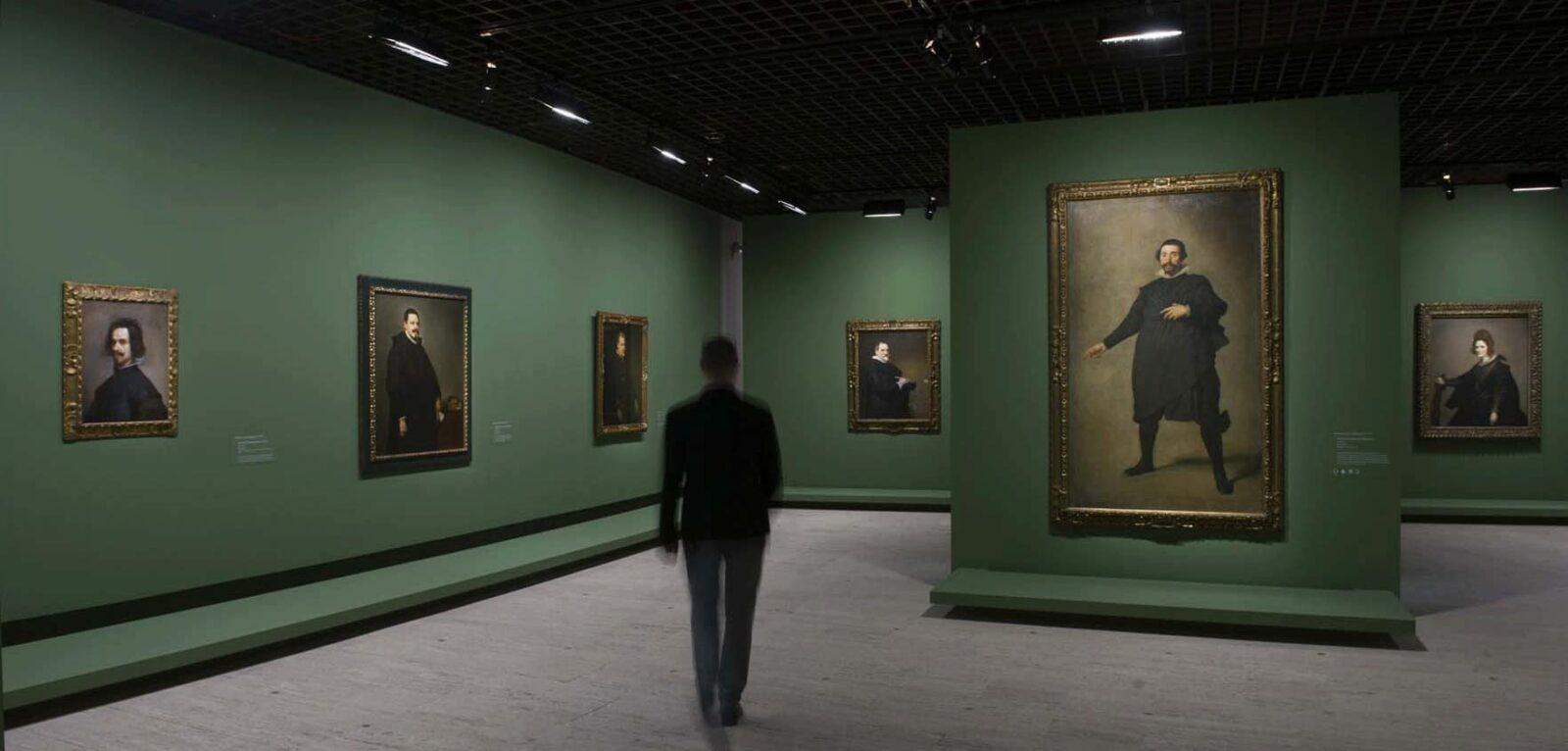 Με τον ζωγράφο Γιώργο Ρόρρη στην έκθεση του Βελάσκεθ στο Grand Palais