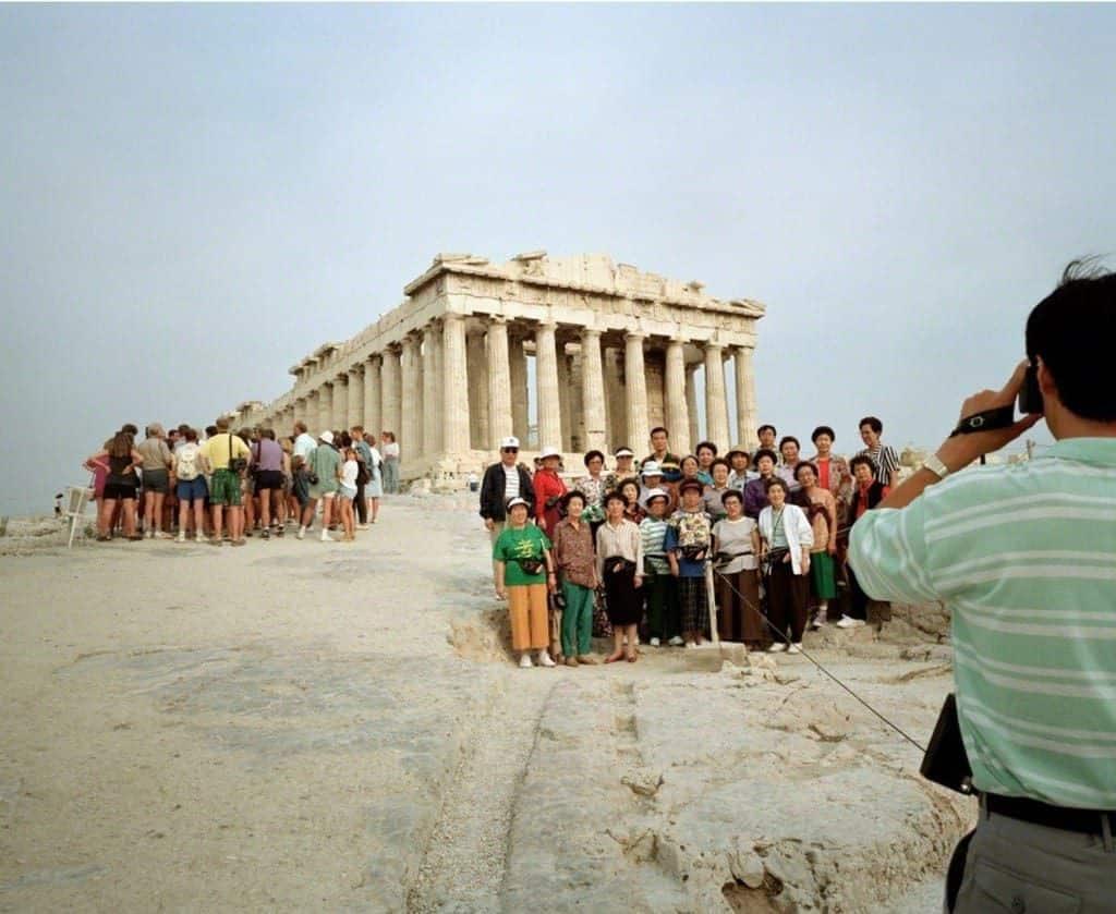 Greece. Athens. Acropolis., 1991