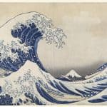 Friday essay: from the Great Wave to Starry Night, how a blue pigment changed the world